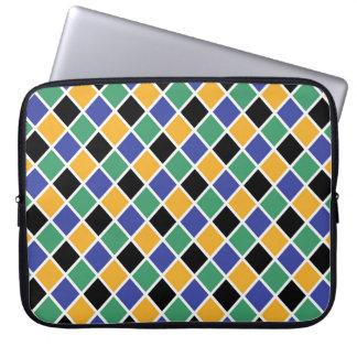 Diamant-Muster #88 Laptopschutzhülle