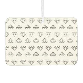 Diamant-Muster-Auto-Lufterfrischer Autolufterfrischer
