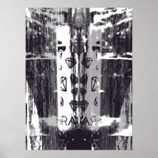 Diamant-Regen Poster