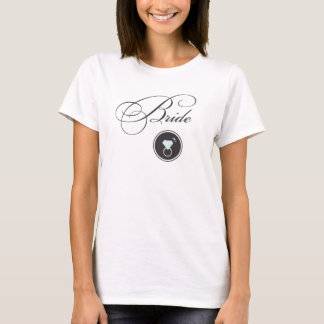 Diamant-Ring-Braut-Trägershirt T-Shirt