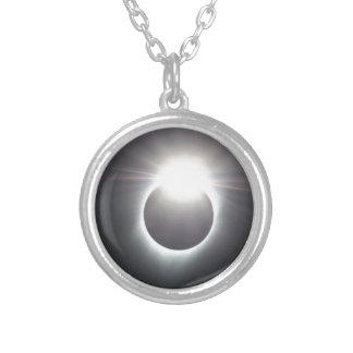 Diamant-Ring Versilberte Kette