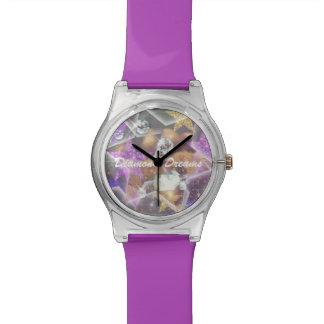 Diamant-Träume Armbanduhr
