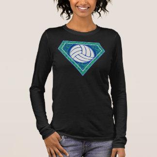 Diamant-Volleyball Langarm T-Shirt