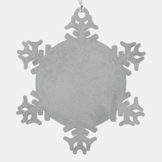 Diamant-Zinn-Schneeflocke-Verzierung Schneeflocken Zinn-Ornament