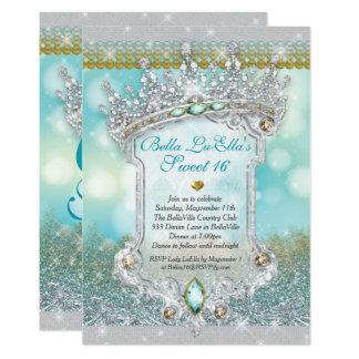 Diamanten und Quitten-Einladungen Bling Bonbon-16 Karte