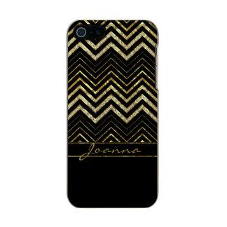 Diamanten verlaufen Zickzack im Zickzack Incipio Feather® Shine iPhone 5 Hülle