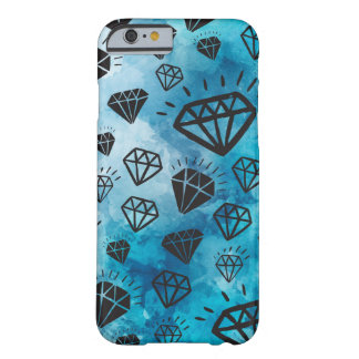 Diamonds heiratet colorful light blue sky shine barely there iPhone 6 hülle