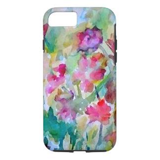 Dianes Watercolor-Blumen-Garten-Blumengeschenk iPhone 8/7 Hülle