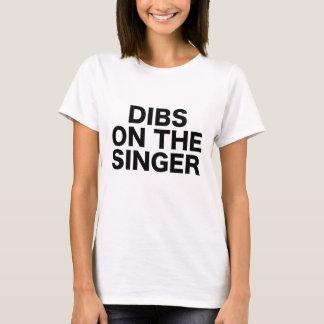 Dibs auf dem Sänger-Show-Konzert-Bekehrt-Festival T-Shirt