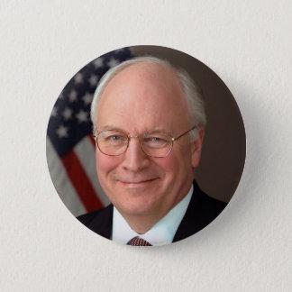 Dick Cheney Runder Button 5,7 Cm