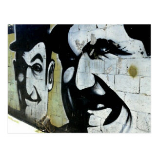 Dick & Doof - Graffiti in Spanien - Postkarte
