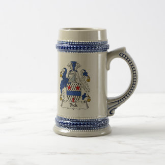 Dick-Wappen Stein - Familienwappen Bierglas