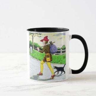 Dick Whittington (1358-1423) und seine Katze, 'vom Tasse