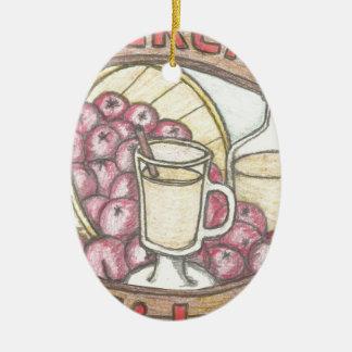Dickens Apfelwein nichts glaubt, durchaus wie gut Keramik Ornament