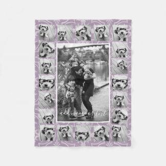 Die 21 Foto-Collagen-und die Fliesen-Muster - KANN Fleecedecke