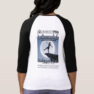 Die 3/4 Hülse Sonnambula Frauen T-Shirt