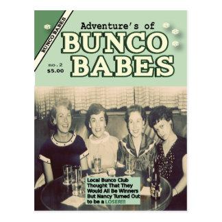 Die Abenteuer der Bunco Baby-Ausgabe #2 Postkarte