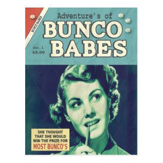 Die Abenteuer von Bunco Babys Postkarte