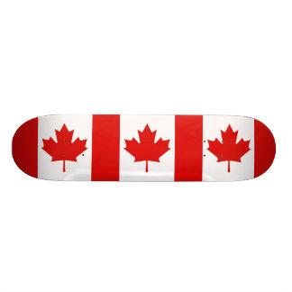 Die Ahornblattflagge von Kanada Skateboard Deck