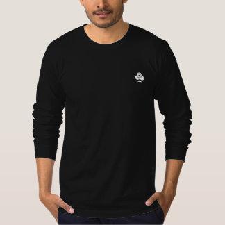 Die Aktions-Junkie-Poker-langes Hülsen-Shirt der T-Shirt