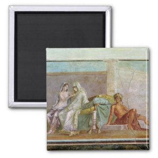 Die Aldobrandini Hochzeit, ANZEIGE 27 BC-14 Quadratischer Magnet