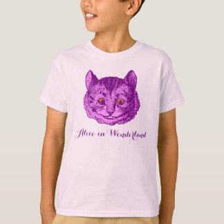 """""""Die Alice im Wunderland-"""" Cheshire-Katzen-T - T-Shirt"""