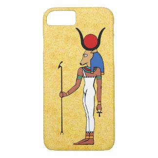 Die alte ägyptische Göttin Hathor iPhone 7 Hülle