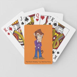 Die Analysator-betrunkener Affe-Spielkarten Spielkarten