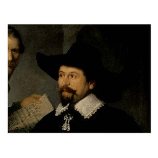 Die Anatomie-Lektion von Dr. Nicolaes Tulp, 1632 2 Postkarte