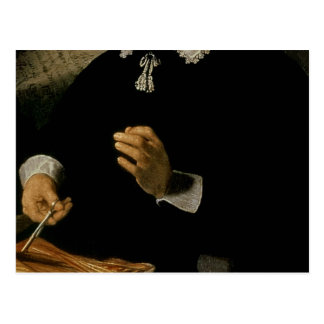 Die Anatomie-Lektion von Dr. Nicolaes Tulp, 1632 Postkarte