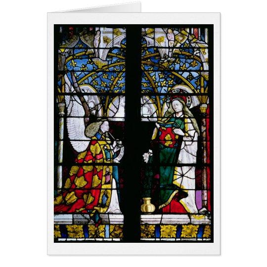Die Ankündigung, von der Kapelle von Jacques Coeur Karte