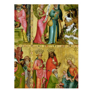 Die Ankündigung zu St. Joachim Postkarte
