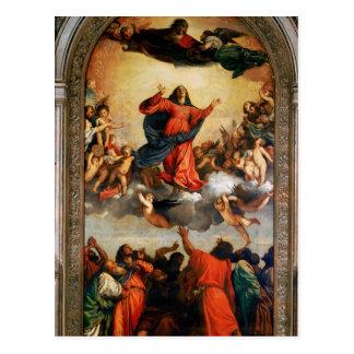 Die Annahme der Jungfrau, 1516-18 Postkarte