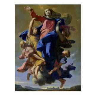 Die Annahme der Jungfrau, 1649-50 Postkarte