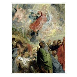Die Annahme der Jungfrau Mary Postkarte