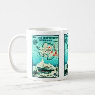 Die Antarktis 1956 Kaffeetasse