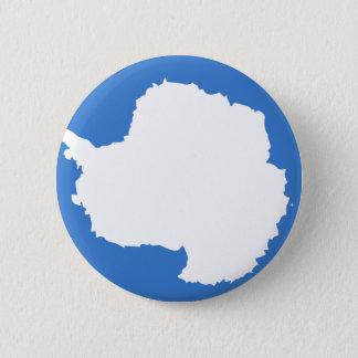 Die Antarktis-Flagge Runder Button 5,1 Cm