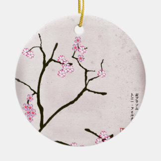 die antike Blüte 1 der tony fernandess Keramik Ornament