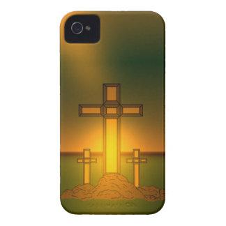 Die Aura-Licht des Gottes über dem Kreuz von Case-Mate iPhone 4 Hüllen