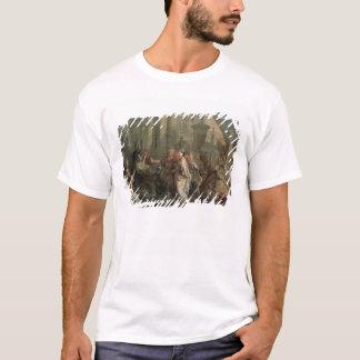 Die Ausschiffung von Kleopatra am Tarsus (Öl an T-Shirt
