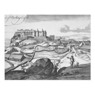 Die Aussicht des Sterlingschlosses Postkarte