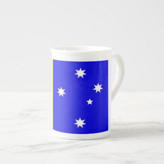 Die australische Flagge Prozellantasse