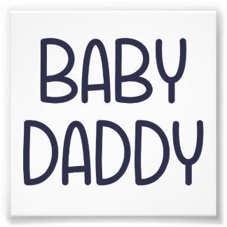 Die Baby-Mutter Baby Daddy (d.h. Vater) Photo Drucke