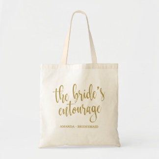 Die Bachelorette der Entourage der Braut Tasche