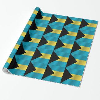 Die Bahamas Einpackpapier