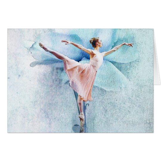 Die Ballerinakarte Karte