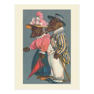 """""""Die Bärn-Paar-"""" Vintage Postkarte"""
