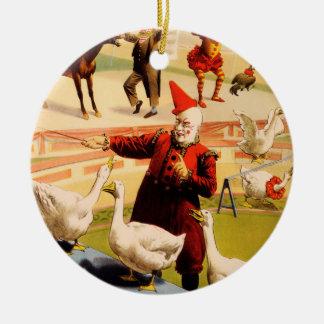 Die Barnum u. Baileys bestste Show auf Erde Rundes Keramik Ornament