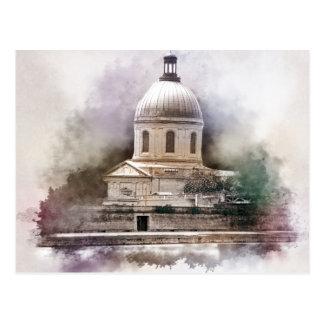 Die Basilika Saint-Pierre von Toulouse Postkarte