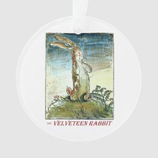 Die Baumwollsamt-Kaninchen-Verzierung Ornament